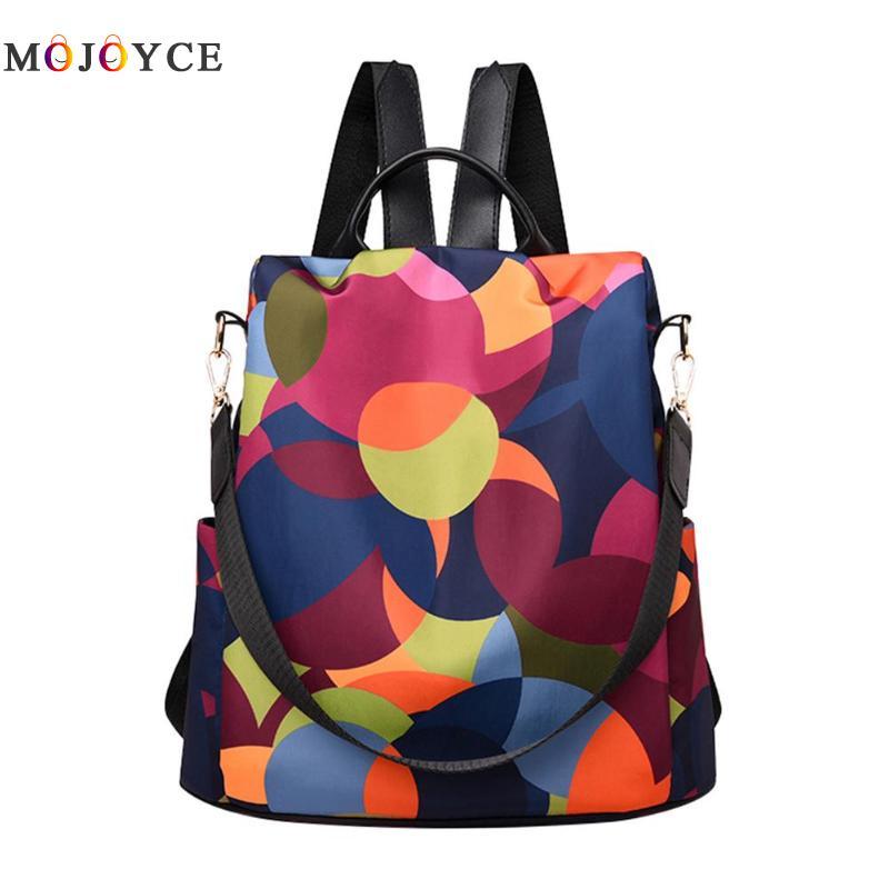 Mochila antirrobo para mujer, mochila escolar de tela Oxford, mochila escolar multifunción para adolescentes, mochilas informales para niñas