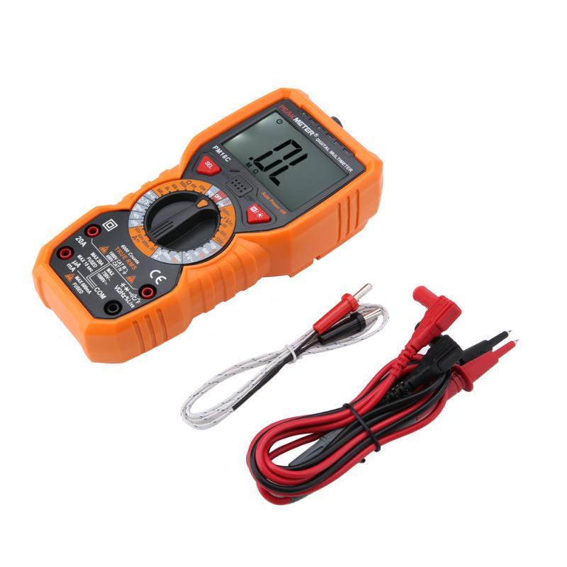 PEAKMETER Digital Multimeter PM18C Intelligent Digital Multimeter Voltage Resistance NCV Tester Electrical Instrument