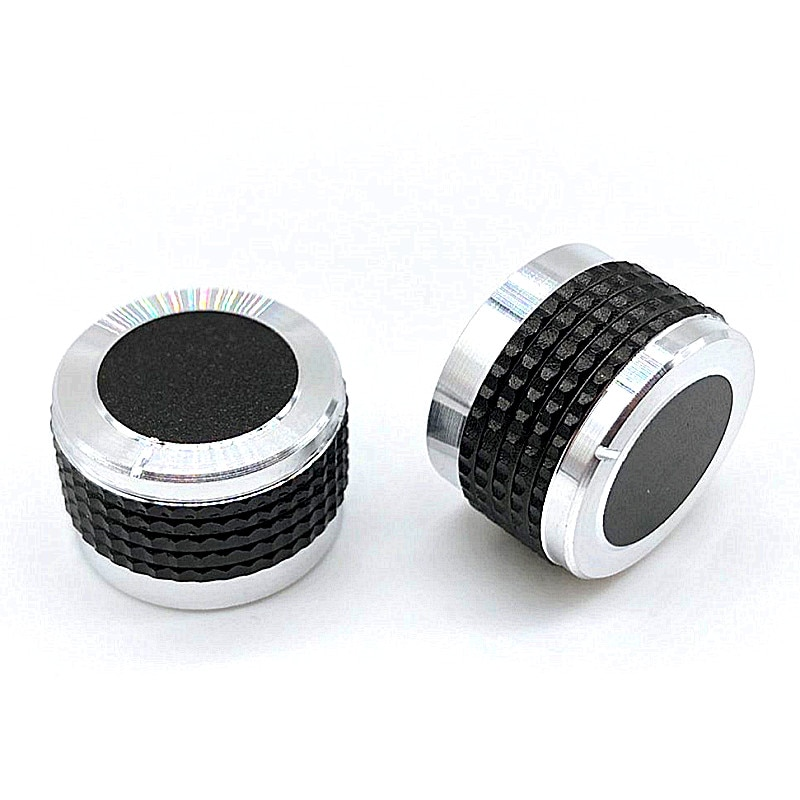 2pcs D Axis Car Volume Knob Power Aplifer Volume Knobs Potentiometer Switch Caps 20 23 26x13mm Half Shaft Plum Shaft