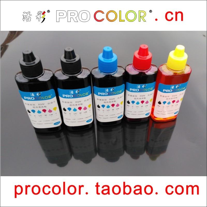 T6641 T6642 T6643 664 BK C M Y CISS kit de recarga de tinta de tanque de tinta para Epson L3050 L3060 L3070 L1300 L1400 cartuchos de impresora de inyección de tinta