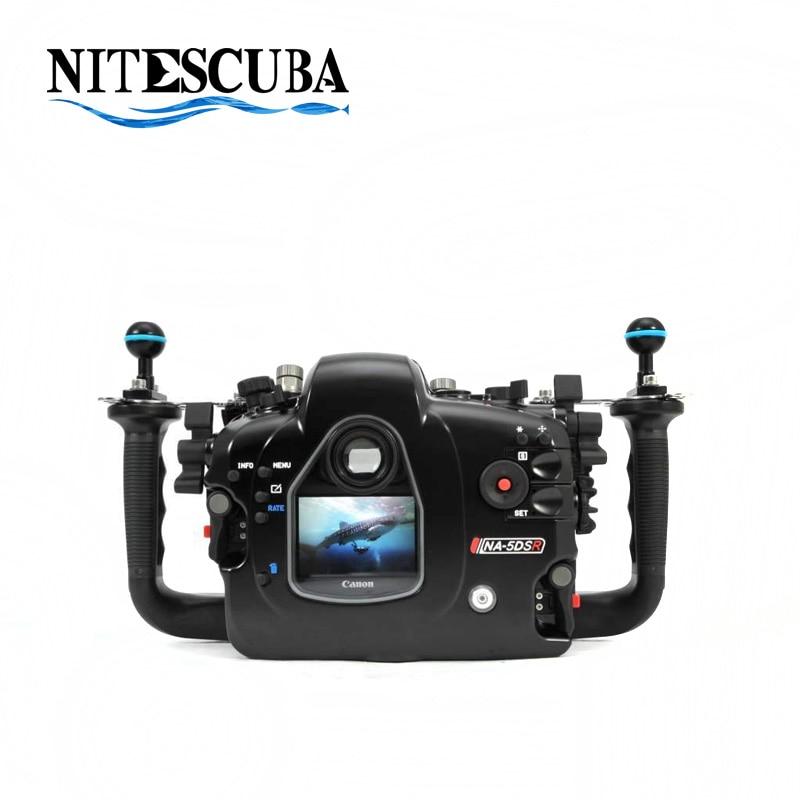 Carcasa NiteScuba DE BUCEO Nauticam para EOS5DS/ 5DSR/ 5D MKIII Cámara impermeable caso 17320 fotografía submarina