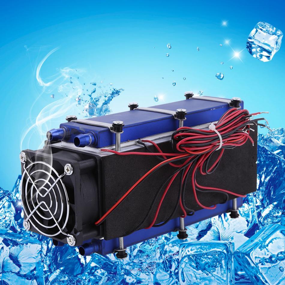 熱電クーラー 12V 576 ワット 8 チップ TEC1-12706 DIY 熱電クーラー冷凍空気冷却装置ツール