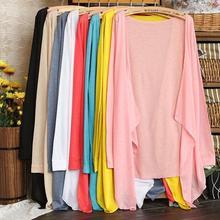 Women's Knitted Cardigan Blouse Korean Style Ladies Summer Sun Blouse Candy Color Beach Female Fashion Tops Feminino Blusa
