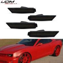 iJDM Front & Back Side Marker Lamp Housings For 2010-2015 Chevy Camaro Side Marker Lights,No Bulb/Socket