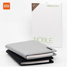 Xiaomi Mijia Kaco Noble papier cahier en cuir fente pour carte portefeuille livre avec signe stylo cadeau pour bureau voyage réunion enfant