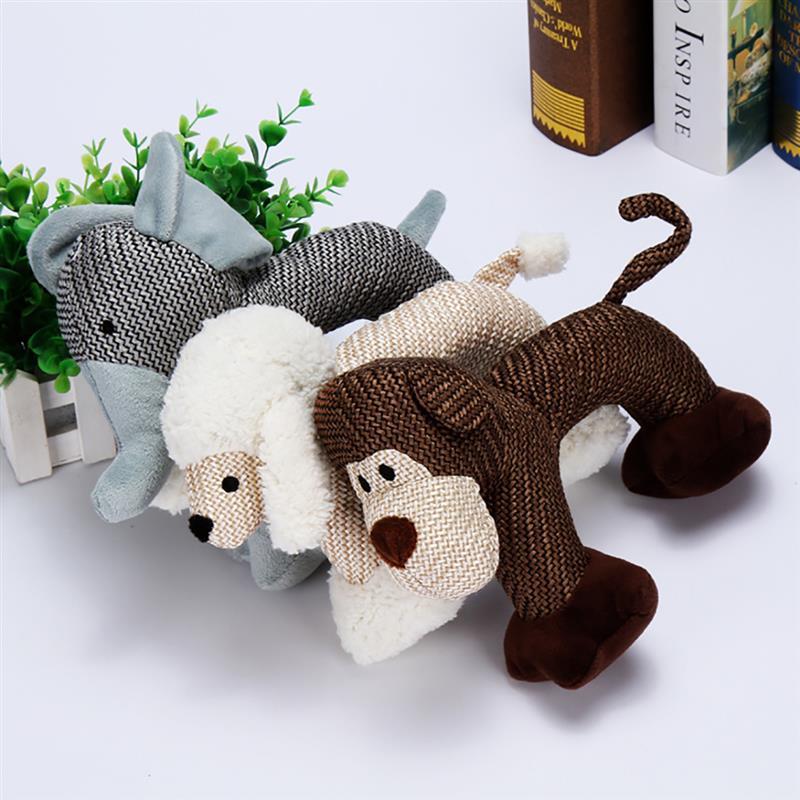 Жевательные Игрушки для маленьких и больших укусов собаки, устойчивые пищащие игрушки для собак, Интерактивная пищащая игрушка для щенков, товары для домашних животных-0