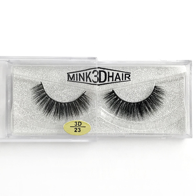 3D mink lashes hand-made reusable soft mink hair false eyelashes natural long thick full strip lashes 300pairs/lot DHL Free