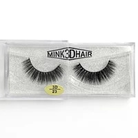 3d mink lashes hand made reusable soft mink hair false eyelashes natural long thick full strip lashes 300pairslot dhl free