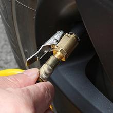 Car air pump thread nozzle adapter car pump accessories fast conversion head clip type nozzle