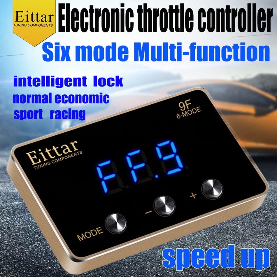 Eittar-contrôleur daccélérateur électronique   Accélérateur pour nissan Pathfinder 2013 +