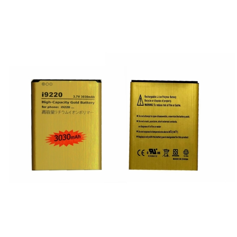 Batería recargable de la batería del teléfono para Samsung Nota 1 i9220 I9228 I889 I717 N7005 N7000 E160K E160S bateria modelos de baterías EB615268VU