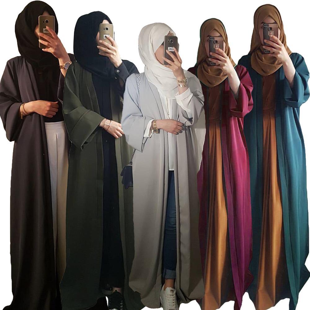 فستان حجاب مسلم عبايات للنساء عباية كارديجان عربي قطر قفطان فستان دبي جلباب قفطان عمان ملابس إسلامية تركية