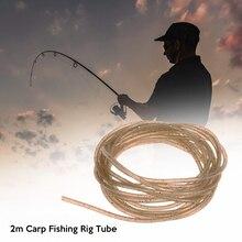 2M engins de pêche plate-forme Tube carpe pêche Silicone souple plate-forme manches semblant lignes de pêche pour carpe pêche sattaque accessoires outils