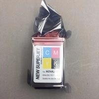 4PCS CMYK Printer Ink cartridge for lecai encad novajet 750 505 600 630 500 736 750 850 880 printhead print head 600DPI