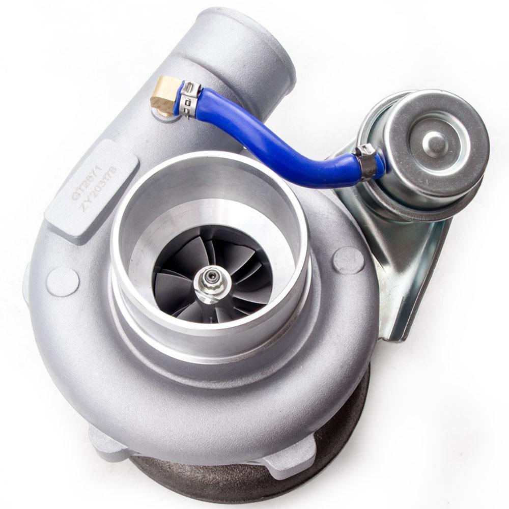 Турбокомпрессор GT2871 GT25 GT28 T25 GT2860 SR20 CA18DET турбонагнетатель воды AR .64 Настройка-3