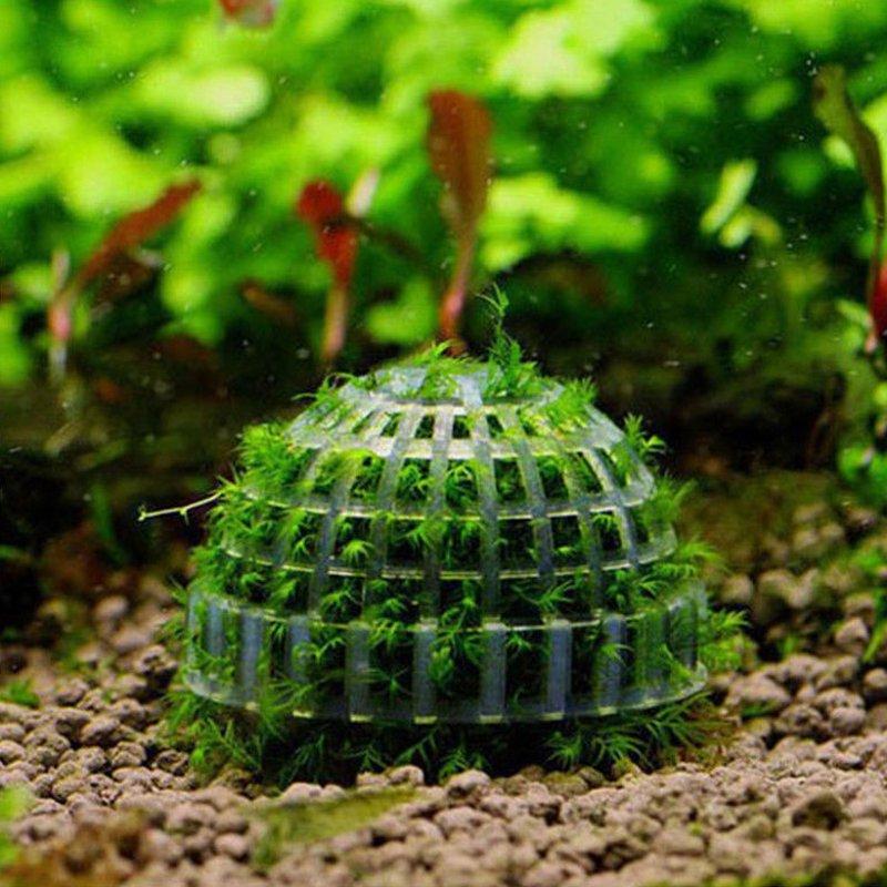 Plastic Aquarium Mineral Stone Float Bio Moss Ball Plant Cultivation Balls Fish Tank Aquatic Pet House Decorations Ornaments