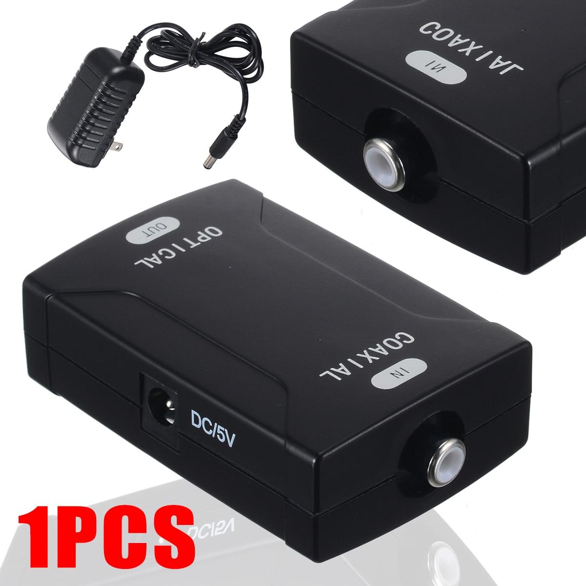 1pc US enchufe Coaxial RCA óptica Toslink SPDIF Digital de señal de...