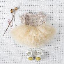 High quality girls dress summer royal style princess tutu dress infant newborn kids party wedding costumes bebe vestidos 0-7Yrs
