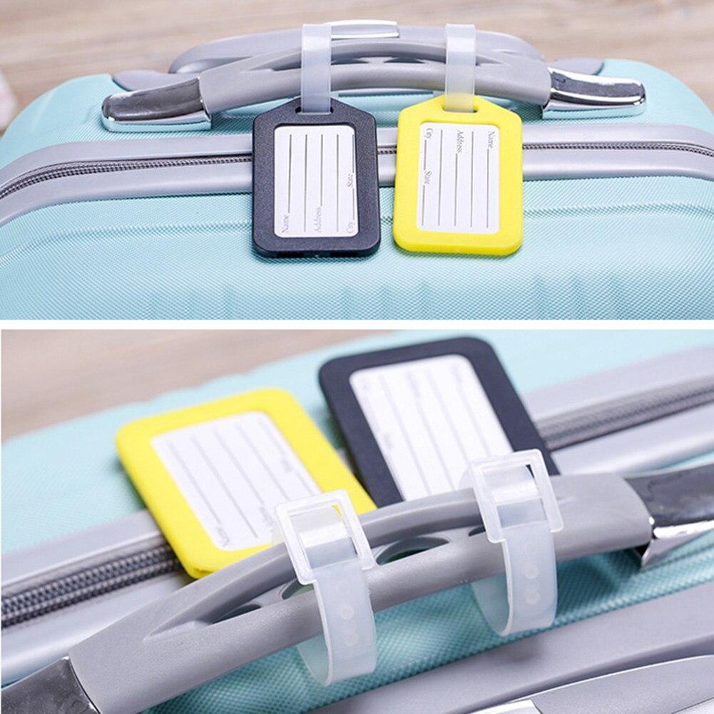 2019 аксессуары для путешествий, пластиковая бирка для багажа, бирка для путешествий, чемоданов, бирка для багажа, бирка с именем, бирка для уд...