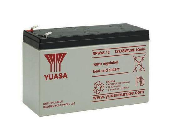 Batterie Blei de 12 v 8,5 Ah AGM Maßnahmen der 151x6 5x 97,5mm Npw45-12