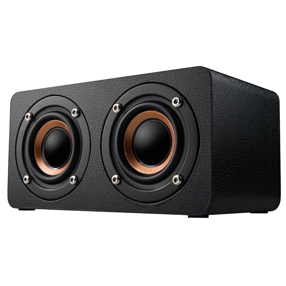 Mini altavoz M5, altavoces inalámbricos Bluetooth, Subwoofer portátil de madera, barra de sonido, estéreo, FM, uso en el hogar, reproductor de música