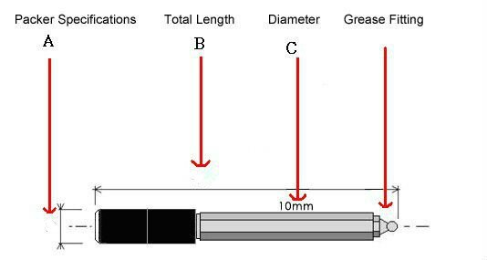 ماكينة تعبئة وحقن الضغط العالي ، 10 × 100 مللي متر ، لمنع تسرب الخرسانة ، ماكينة إصلاح الكراك