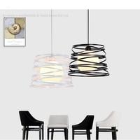 Loft Simple Iron American Style Pendant Light For Dining Room Home Restaurant Creative Study Room Living Room LED E27