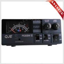 Hohe Effizienz PS30SW III QJE 13,8 V DC 110 V zu 220 V 30A schalt power für TH-9800 KT-8900D Auto mobile Radio