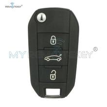 Remtekey OEM 3 Button 433MHz PCF7941 ID46 HU83 Remote Key for Citroen C4 Cactus C Elysee 2016 2015 2014 2013 HELLA 5FA010 353-20