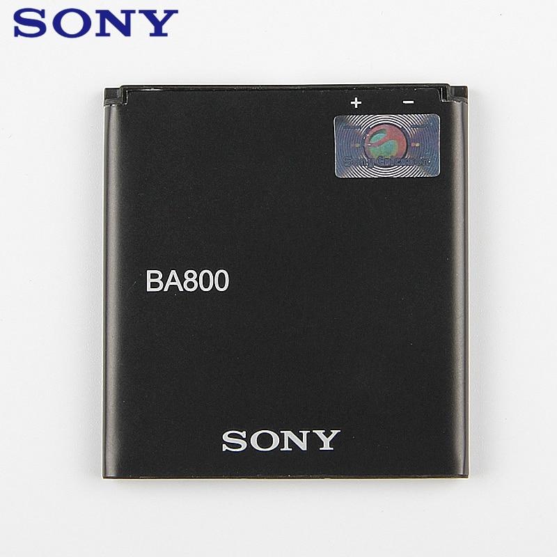 Bateria original ba800 do telefone da substituição para sony xperia s lt25i xperia v lt26i ab-0400 bateria recarregável autentica 1700mah