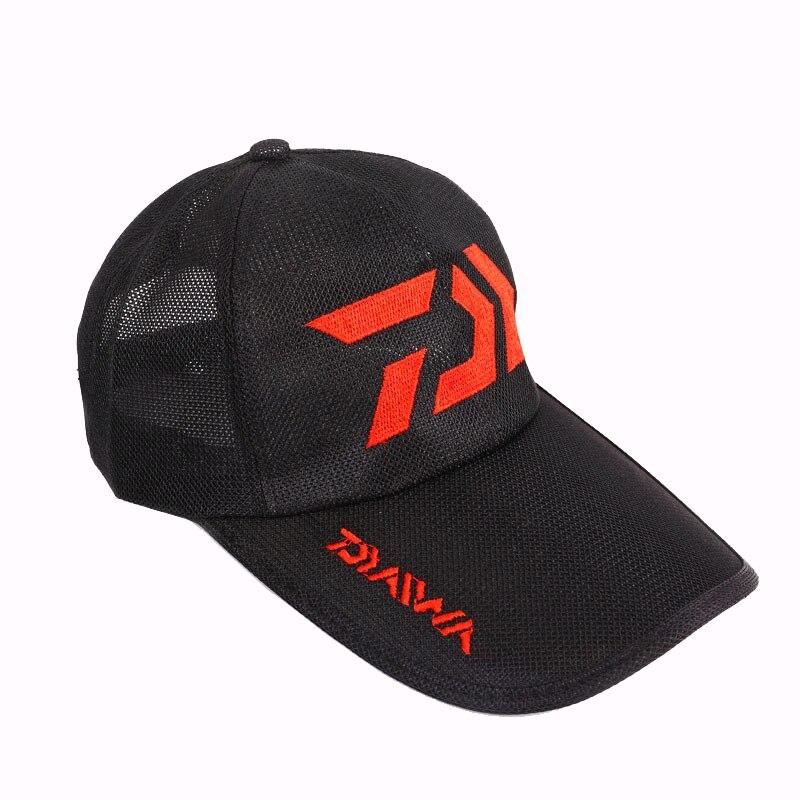 Drop Shipping Daiwa Breathable Sunshade Fishing Cap Outdoor Sport Baseball Fishermen Hat Couple Summer Hiking Cycling Pesca Hat enlarge