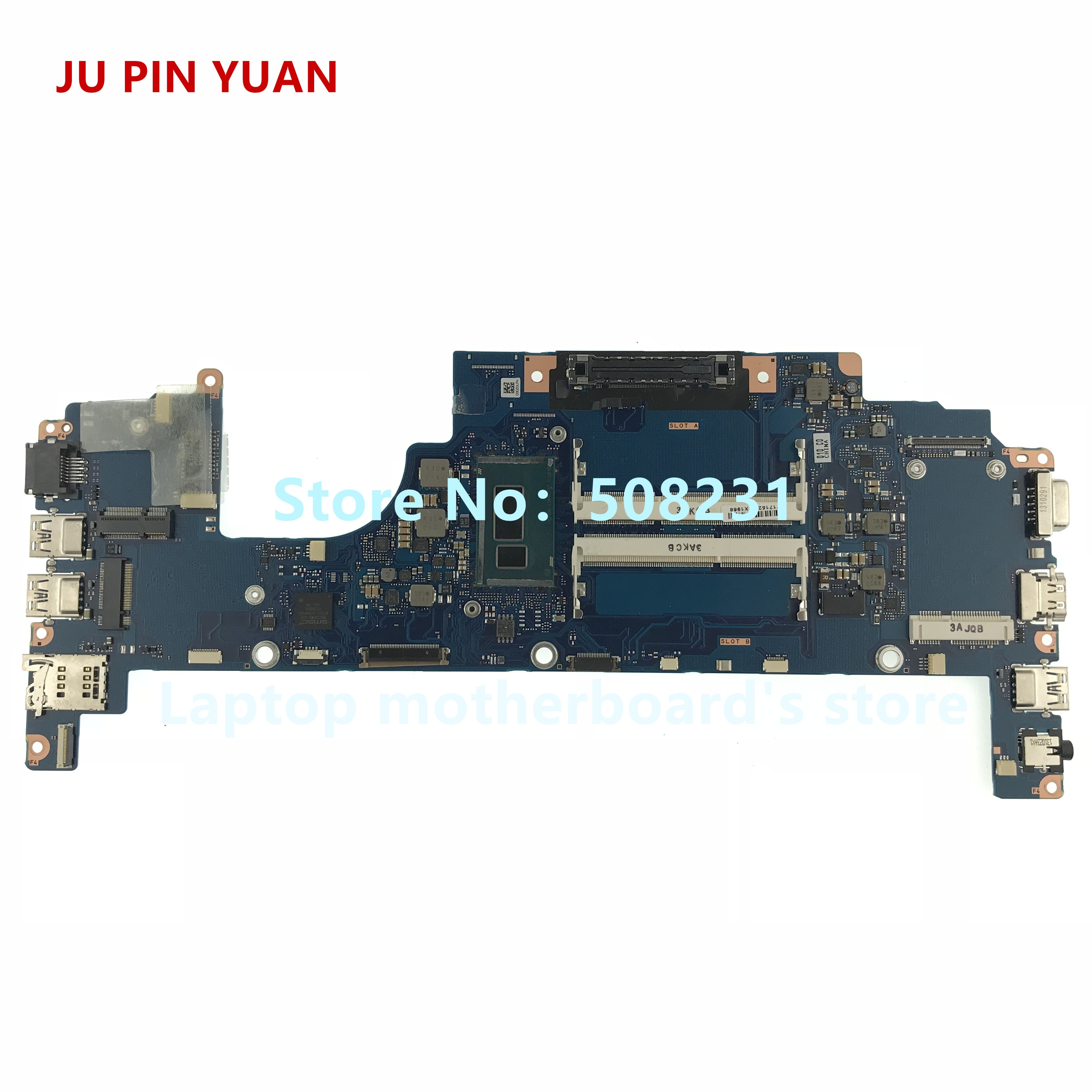 Placa base Ju pin yuan para Toshiba Portege Z30 Z30-A placa base para ordenador portátil fuxsy3 a366a con CPU de I7-4600U totalmente probada