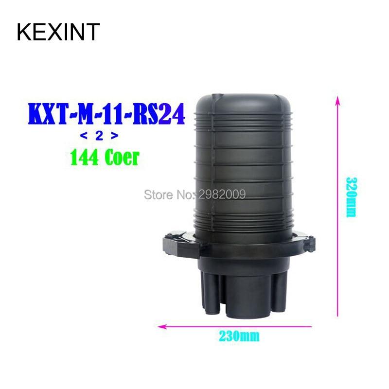 KEXINT 144 core Outdoor Fiber Optic Termination Box Waterproof   IP68  Distribution Box