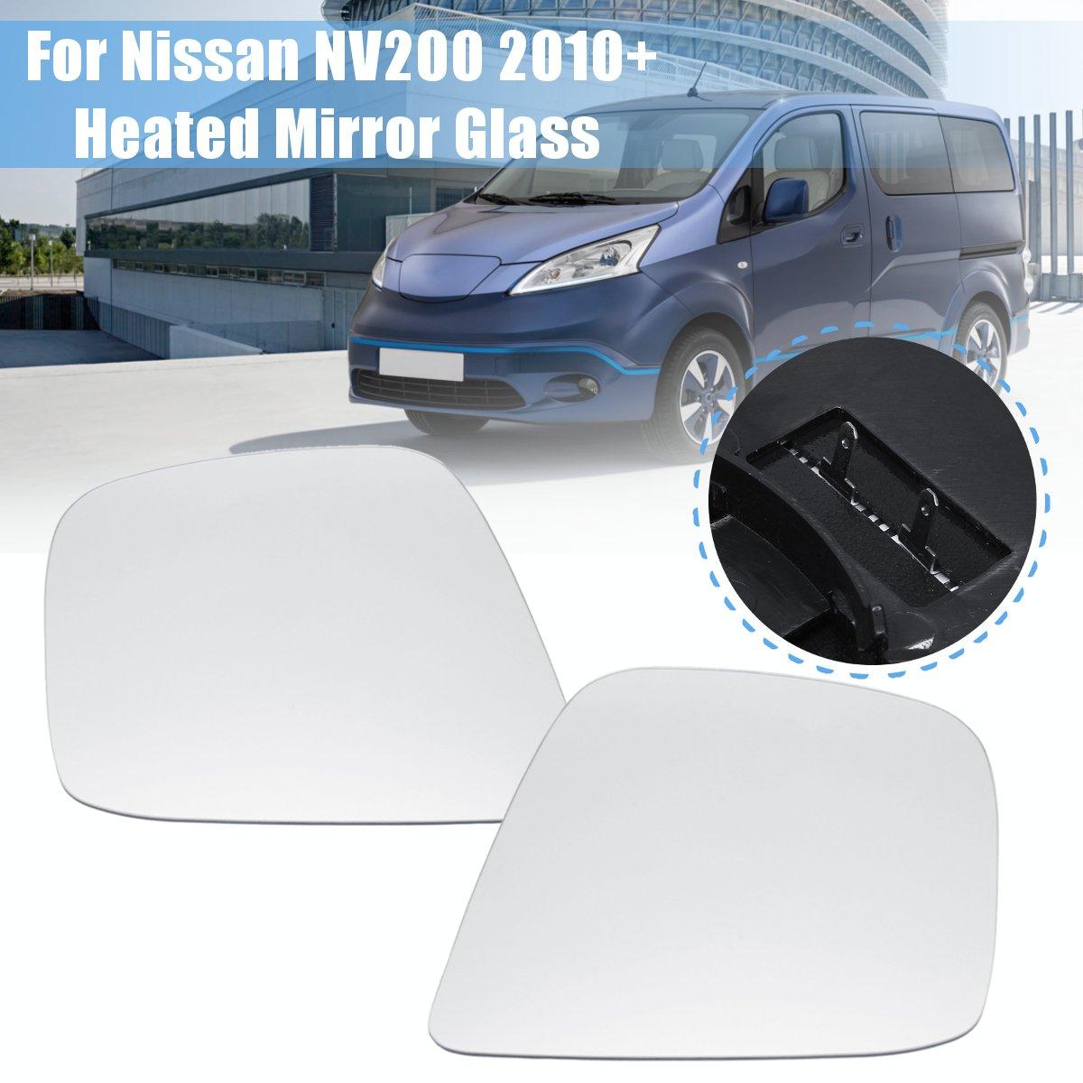 Для Nissan NV200 2010 + пара боковое зеркало с основанием с подогревом Электрическое крыло дверь с подогревом зеркало стекло
