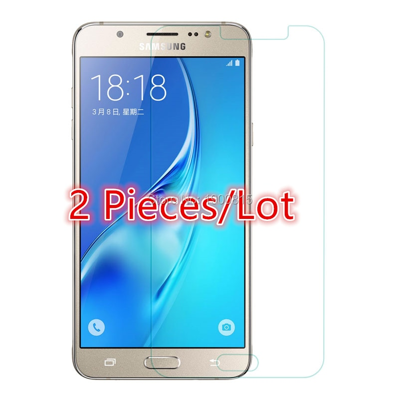 2PCS For Glass Samsung Galaxy J7 2016 Tempered Glass for Samsung Galaxy J7 2016 Screen Protector Pro
