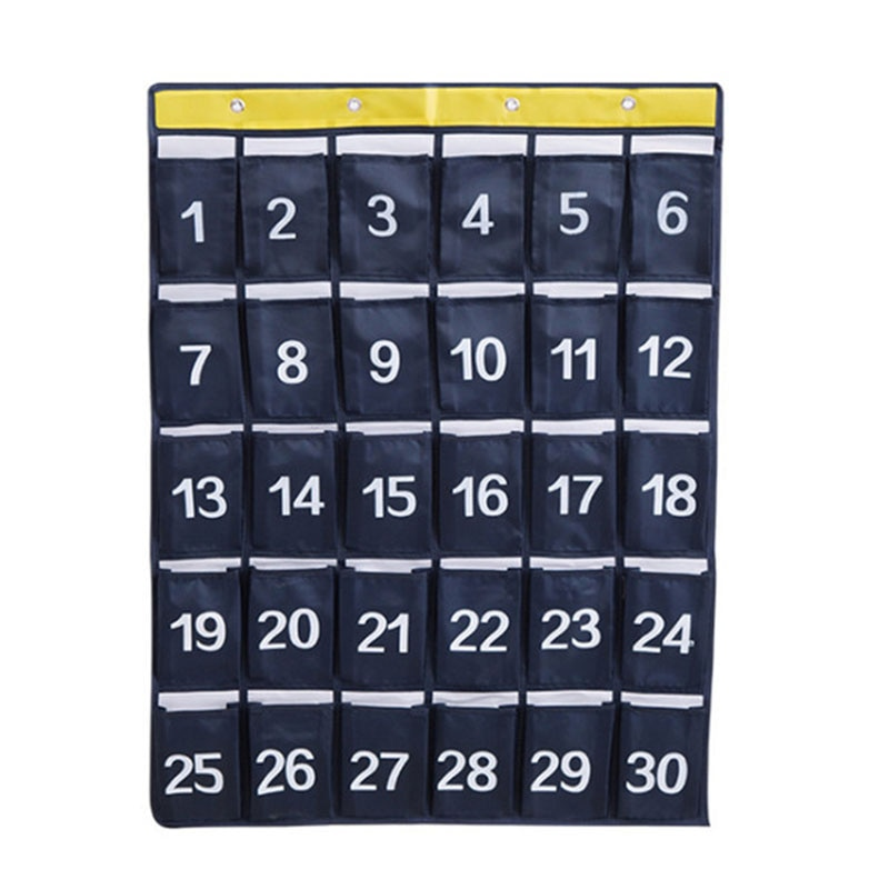 Bolsa colgante para teléfono móvil Digital de rejilla SHGO HOT-30 bolsa de tela Oxford para teléfono móvil 60x79Cm organizador colgante para teléfono