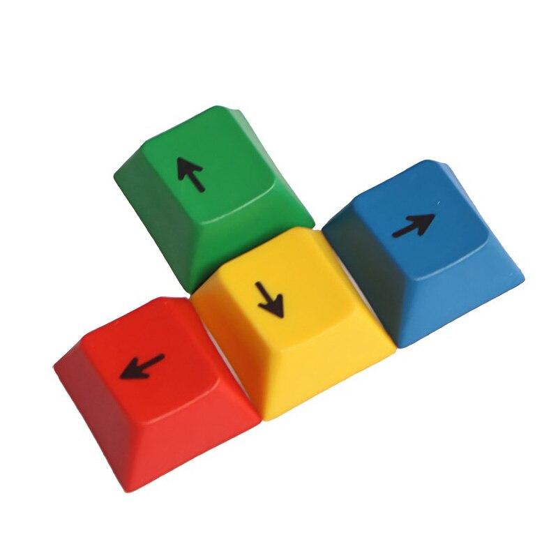 4 Uds un conjunto OEM perfil RGBY PBT de Color Dyesub teclas WASD flecha Keycap conjunto solo vender Keycap