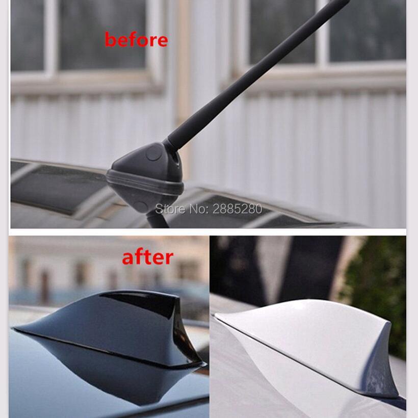 Coche de aleta de tiburón antena de Radio accesorios para Opel astra mercedes benz audi q5 renault 2 volvo s90 vauxhall corsa
