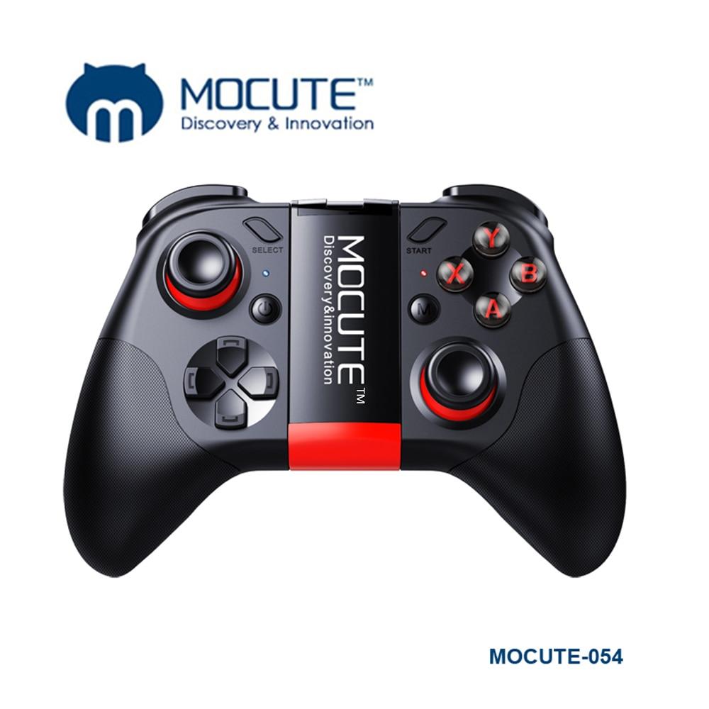 MOCUTE 054 053 050 058 inalámbrico mando BT Dual Joystick titular de teléfono controlador de juego Smartphone Tablet manejar para PC/TV