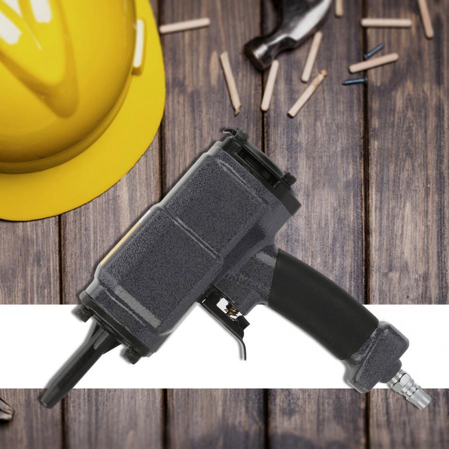 NP-50 Extractor de clavos neumático Stubbs tirador de uñas pistolas de poder grapadora de aire estilo U para carpintería de muebles