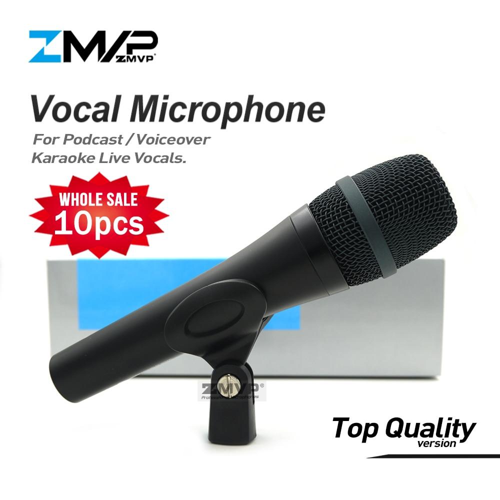 10 шт. высокое качество E945 проводной микрофон профессиональный динамический 945 микрофон для караоке живой вокал сценический Подкаст