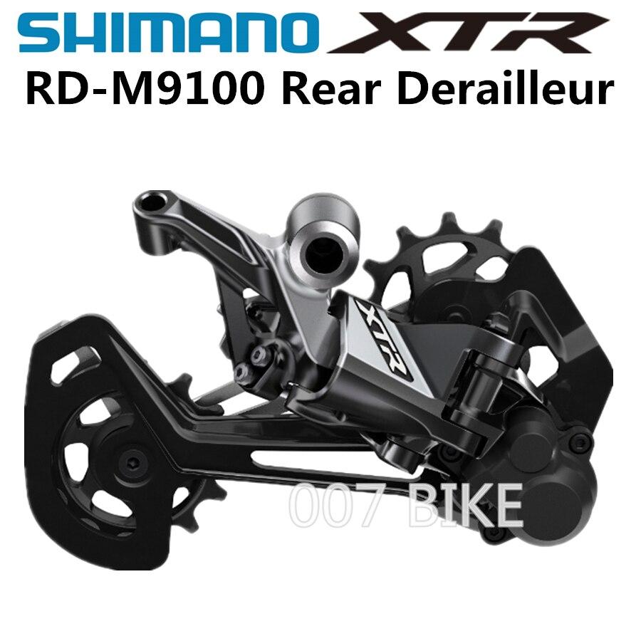 Shimano deore xtr rd m9100 m9120 sombra desviadores traseiros mountain bike m9100 desviadores gv mtb desviadores 11/12-velocidade 24 velocidade