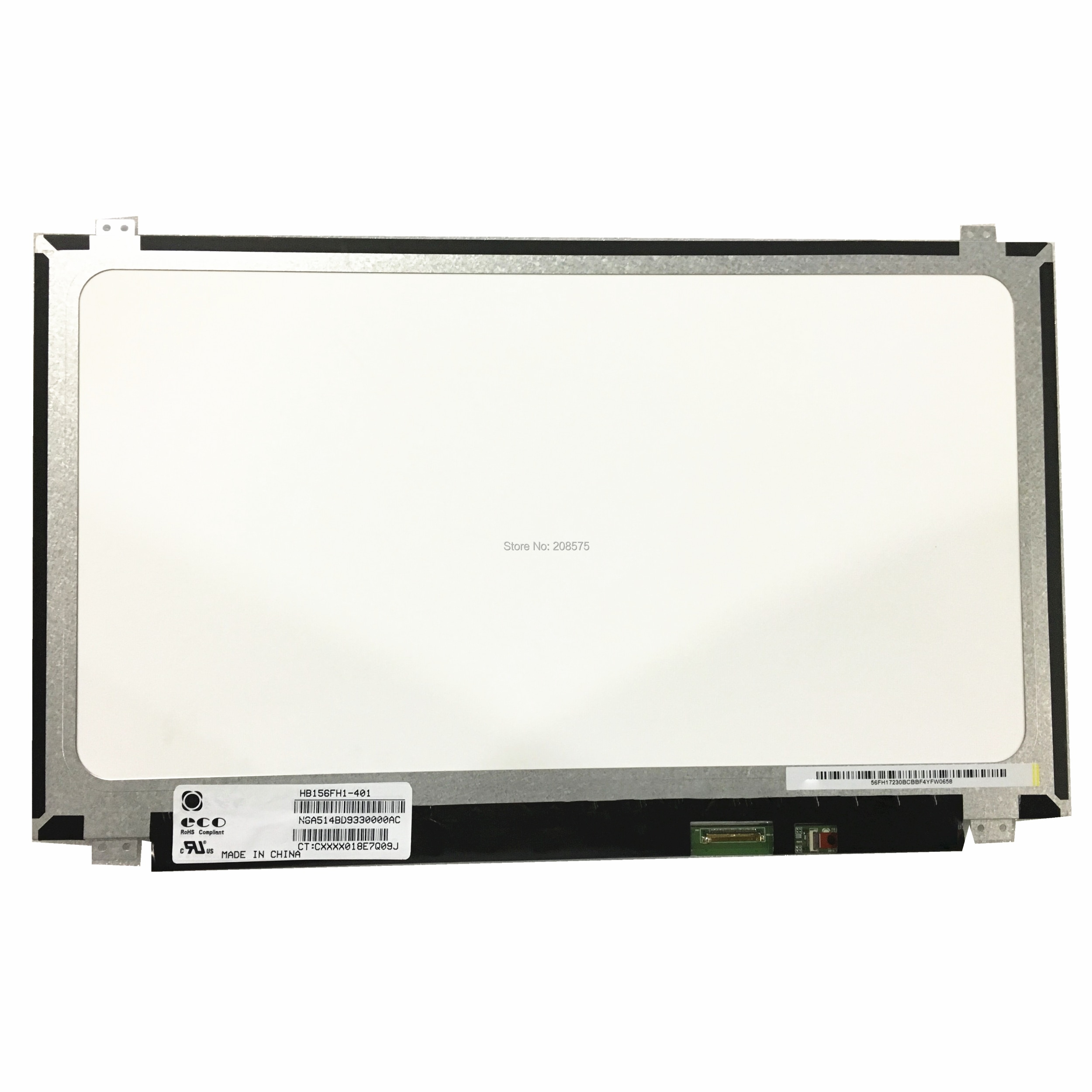 Envío Gratis HB156FH1-401 HB156FH1-301 402 B156HTN03.8 B156HTN03.1 B156HTN03.4 B156HTN03.7 1920*1080 EDP30pin LED PANEL de pantalla
