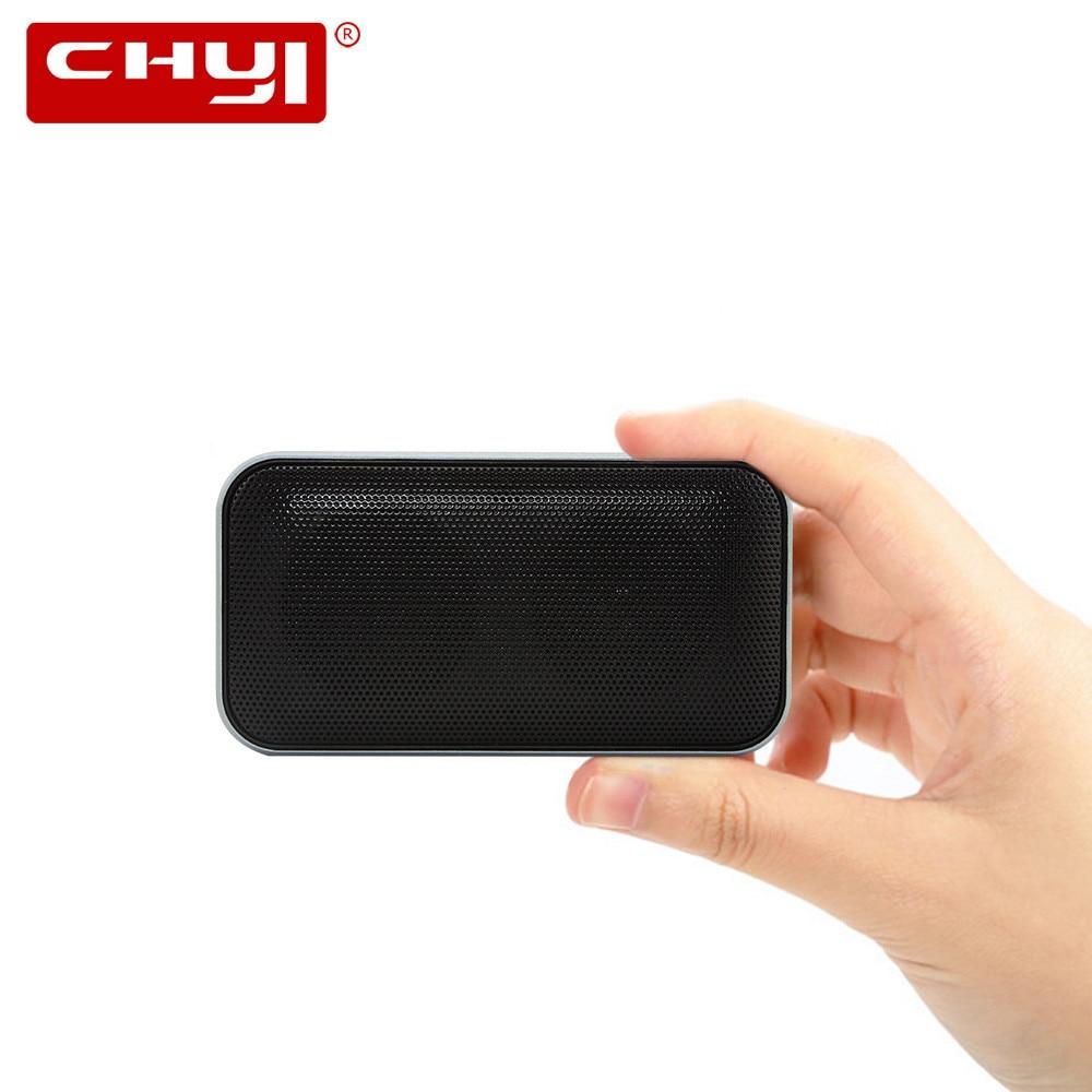 BT207 Altavoz Bluetooth inalámbrico portátil Mini pequeño Metal caja de sonido de música portátil manos libres bajo al aire libre Subwoofer para teléfono