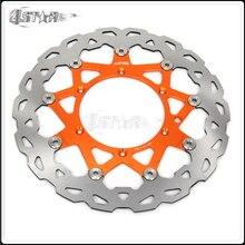 Motorrad 320MM CNC Schwimm Bremsscheibe Rotor Für KTM EXC GS EXCF SX SXF SXS XC XCW XCF MXC MX SMR LC4 Sixdays SUPERMOTO DUKE