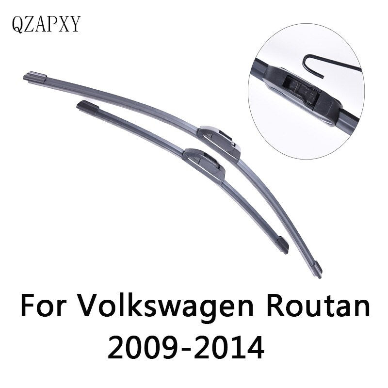 Front Wipers Blade For Volkswagenroutan from 2009 2010 2011 2012 2013 2014 Windscreen wiper Wholesale Car Accessories