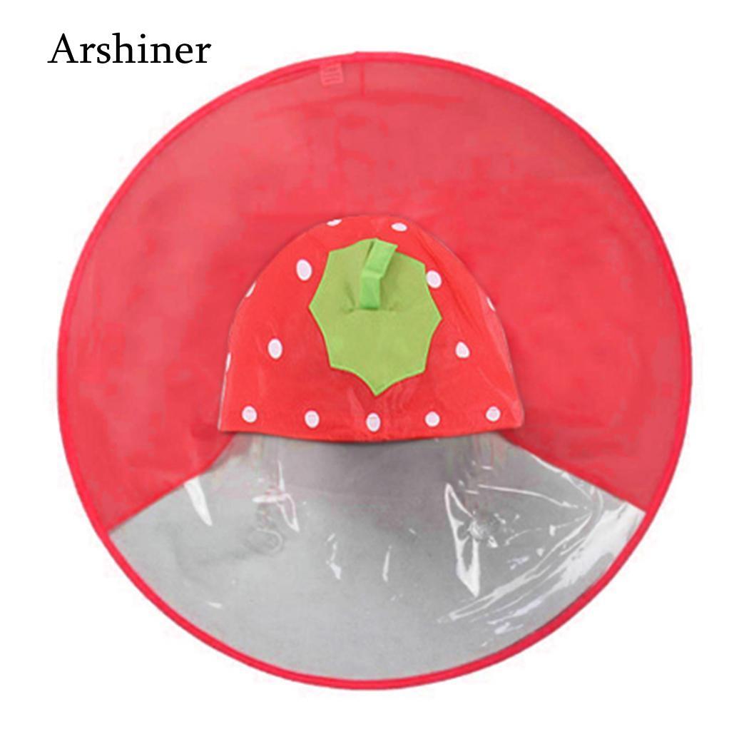 Chubasquero As Cartoon 71 paraguas manos 160cm imagen niños 28 pulgadas bonito 80 sombrero Rainwear patrón