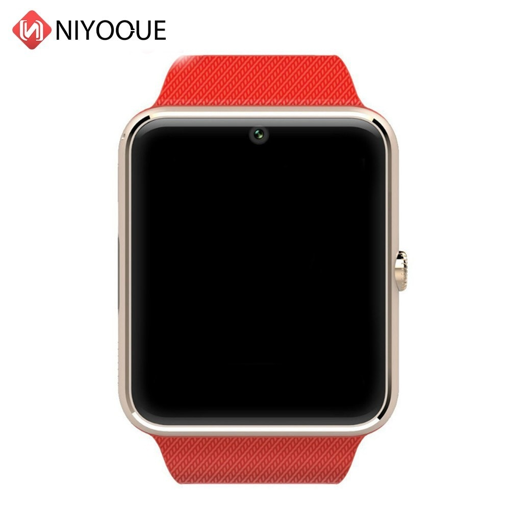 Bluetooth Smartwatch GT08 Reloj Inteligente para el iPhone 8 Plus X Samsung S9 Nota 9 Xiaomi Android teléfonos Reloj Inteligente