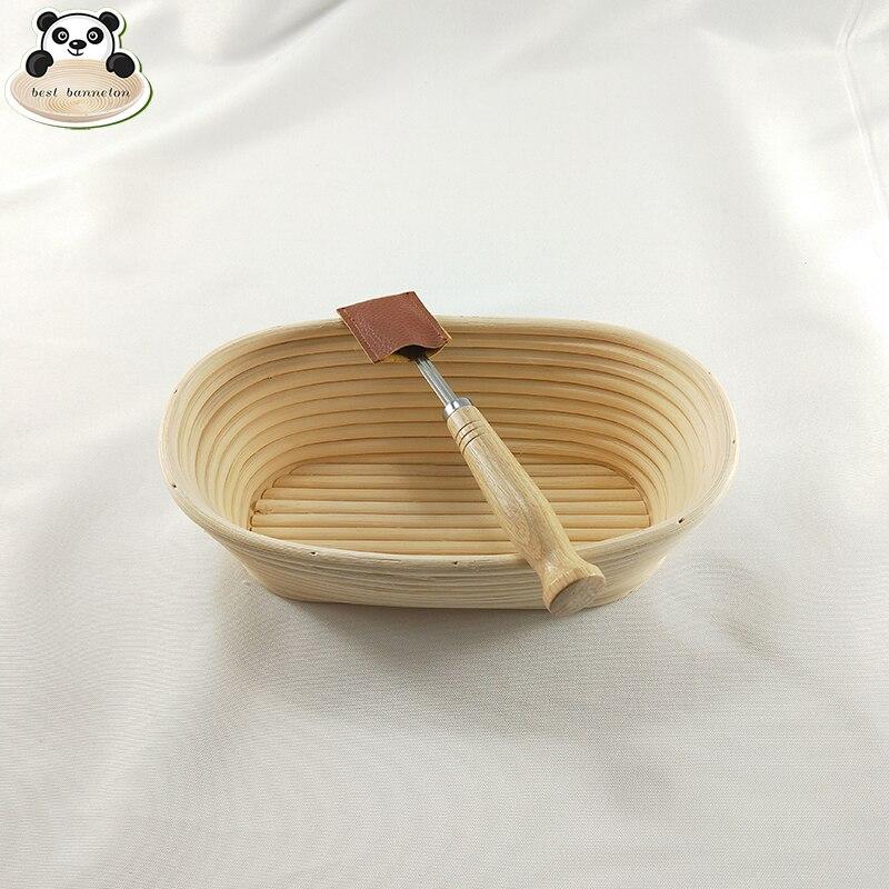 Cestas de pão baguette pão cesta de vime grande alvo massa tigela cesta de pão para o contador de reprodução tigela de massa