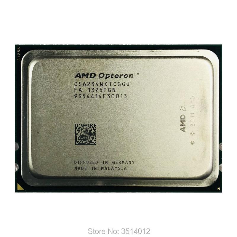 AMD Opteron 6234 Op 6234 2.4 ghz Dodici-Core Dodici-Filo 115 w CPU Processore OS6234WKTCGGU Presa G34